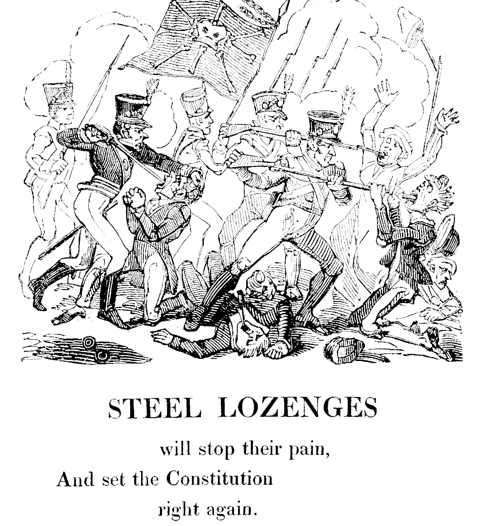 16 Aug Cruikshank 'Steel Lozenges'