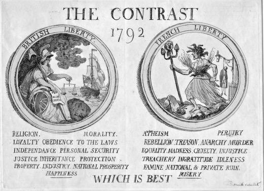 1792 Britain v France