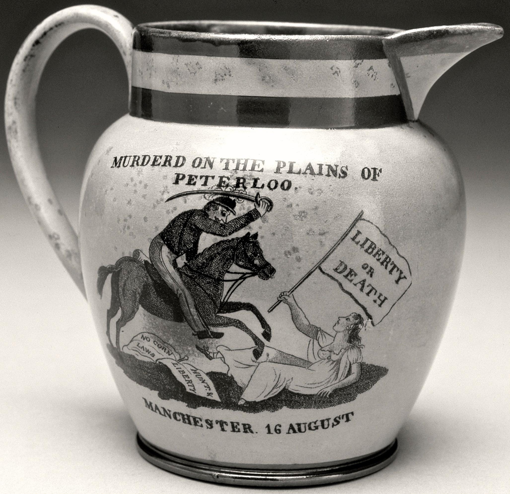 1819 Aug-Dec jug. Photo: Manchester Art Gallery.