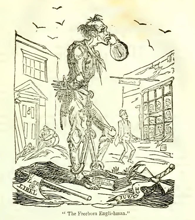 1819 Dec Cruikshank Freeborn Englishman1821