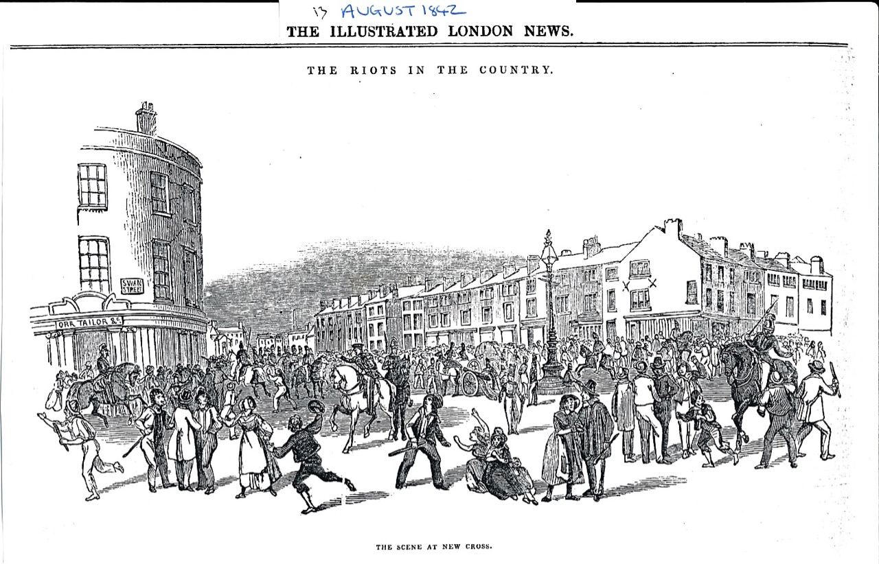 New Cross Manchester Aug 1842