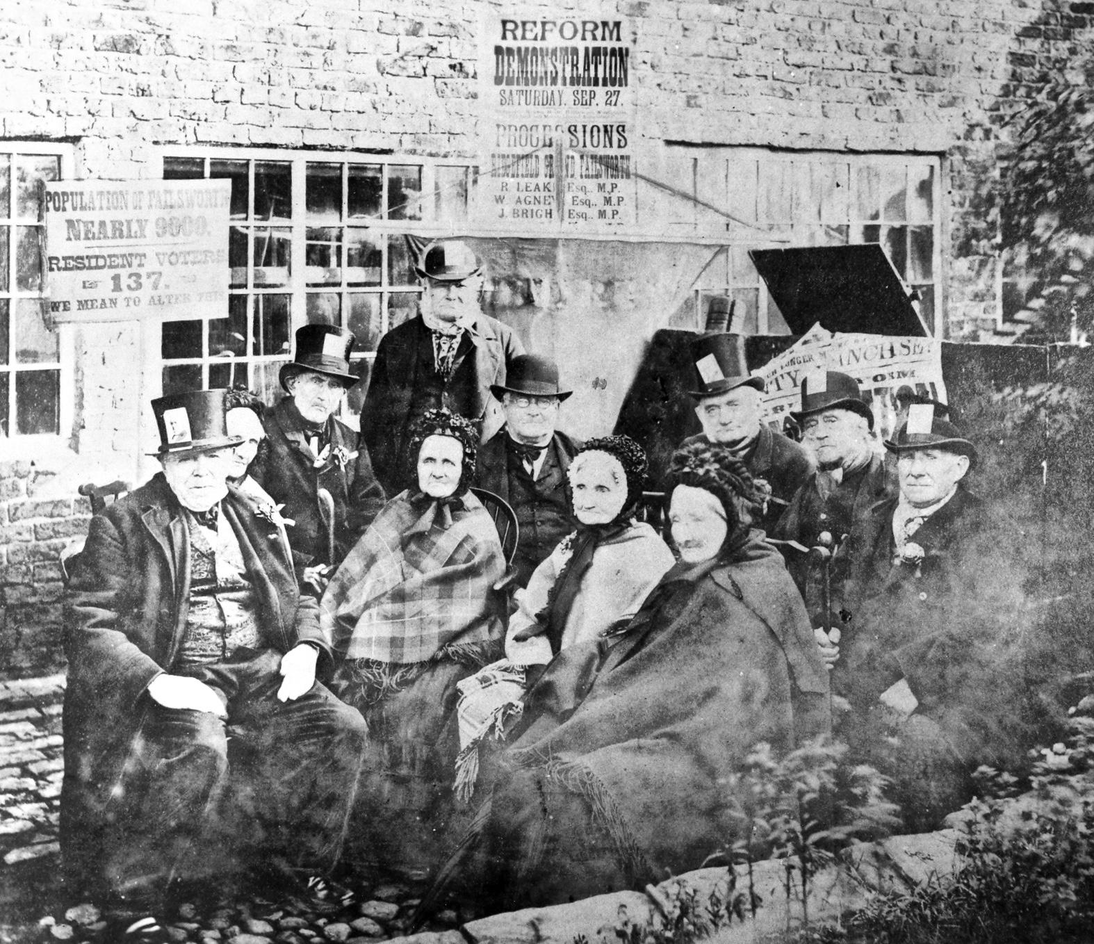 Failsworth Veterans from 27 September 1884 © Gallery Oldham.