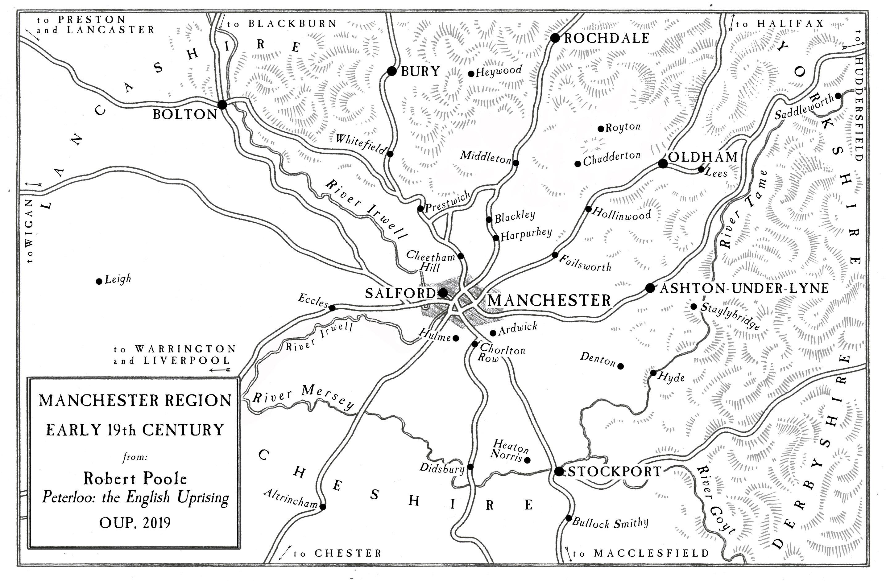 Map 1 Region. Robert Poole.