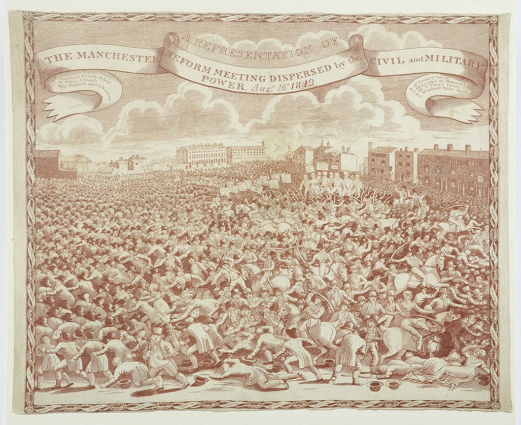 Peterloo Handkerchief © People's History Museum