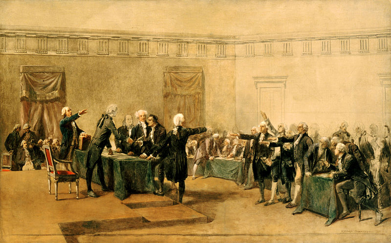 John Trumbull's painting Declaration of Independence