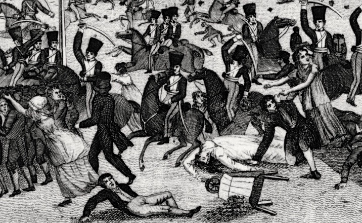 Peterloo Sudlow (MCL mO7592) – Version 3. Manchester Archives & Local Studies