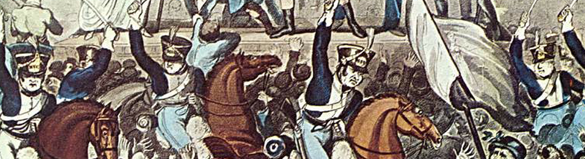 The Hidden Tableaux's Peterloo Massacre 1819