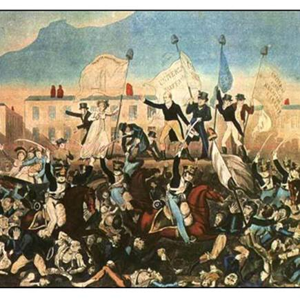 Peterloo in Sound