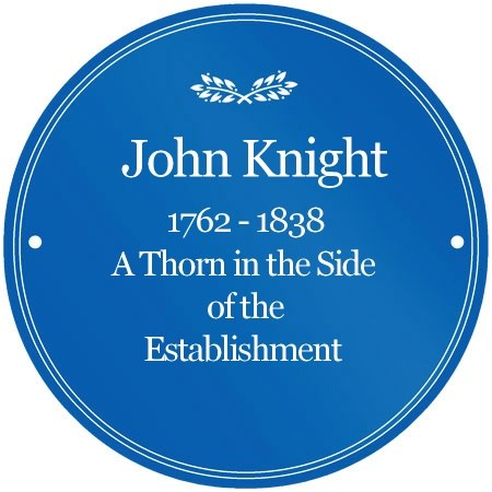 John Knight Blue Plaque