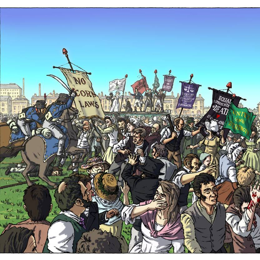 Peterloo copyright peterloo.org