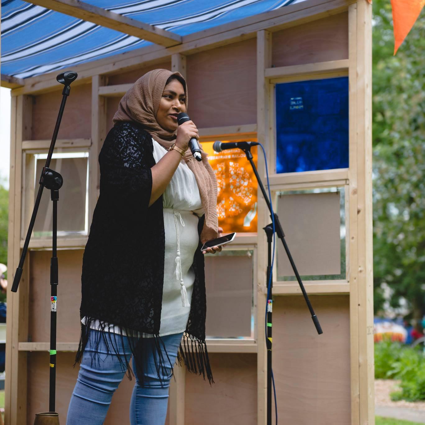 Soapbox- Alison Kershaw- All Saints Park - Manchester - 8th June 2018